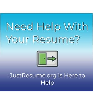 just resume website