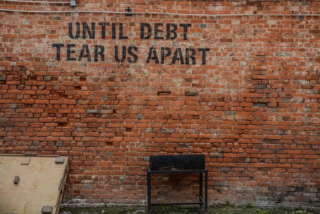 til debt tear us apart