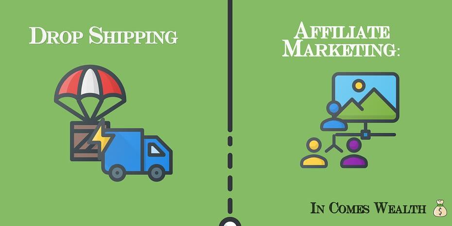 Drop Shipping Vs Affiliate Marketing: